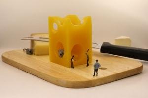 Käsemesser zum schneiden