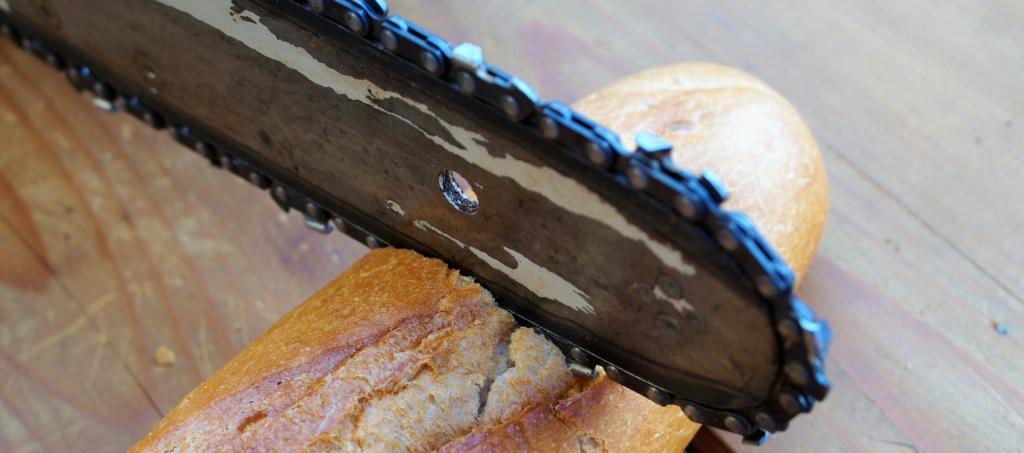 Brot am besten schneiden
