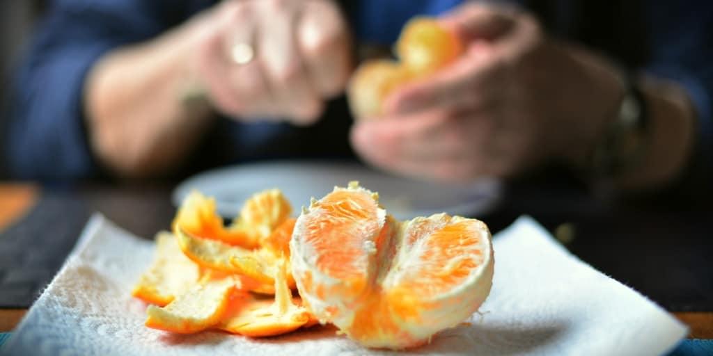 Orangenschäler Test